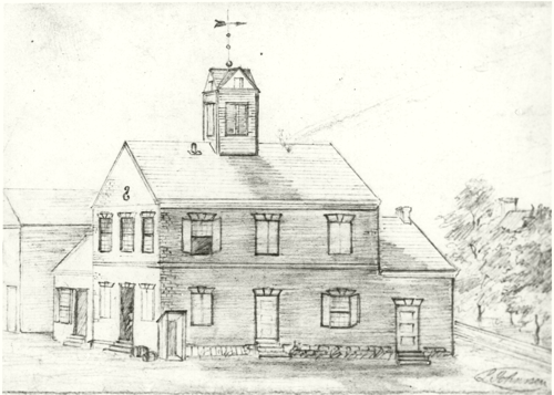 Bev courthouse drawing